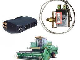 Термостат кондиционера на комбайн, трактор механический (L трубки = 580 мм. )