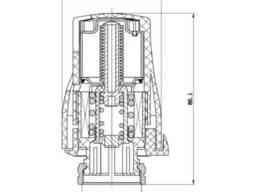 Термостатическая головка SD Forte М30х1,5 SF254
