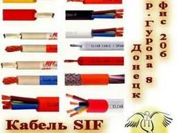 Термостойкий силиконовый кабель, провод SIF, SIAF, SIMH