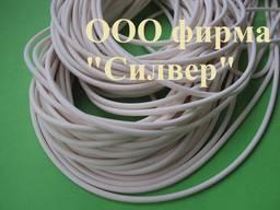 Термостойкий резиновый шнур круглого сечения - диаметр 6 мм