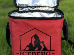 Термосумка Сумка-Холодильник Iceberg. Красный