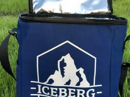 Термосумка Сумка-Холодильник Iceberg. Синий