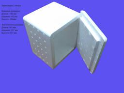 Термоящик с крышкой из пенополистерола