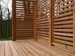 Терраса. Строительство террас из дерева (термодерева) - фото 2