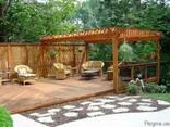 Терраса. Строительство террас из дерева (термодерева) - фото 7