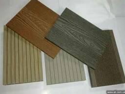 Террасная доска, фасадные панели из деревопластика(ДПК)