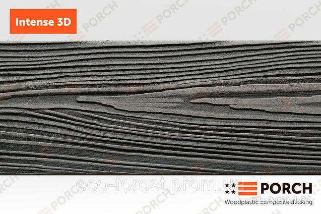 Террасная доска Porch Intense 3D Ebony