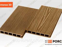Террасная доска Porch Intense 3D Teak