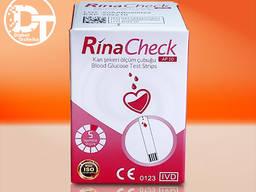 Тест-полоски для глюкометра Rina Check / Рина Чек (AP10), 50 шт.