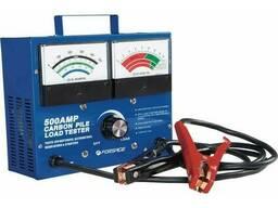 Тестер акумуляторних батарей, генераторів і пускового струму аналоговий (12 V , 500А). ..