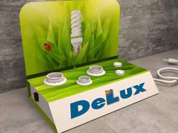 Тестер для лампочек  DeLux торговый