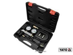 Тестер герметичності циліндрів двигунів YATO 7 МПа з інструментами 4 шт + кейс