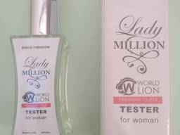 Тестер Premium Class Paco Rabanne Lady Million женский,60мл