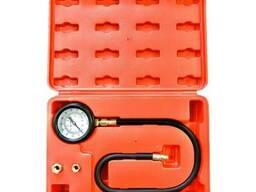 Тестер тиску масла в наборі з різьбовими адаптерами 3пр. .. .
