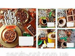 Тетрадь на 24 листов в линейку 1 сентября Coffee Lover