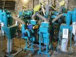 The equipment for processing grain on groats UKR-2