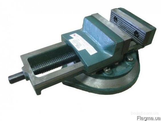 Тиски станочные 250 мм (7200-0225-02) чугунные.