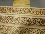 Деревянный штакетник с тиснением 10 грн шт - фото 3