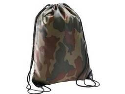 Тканевый рюкзак. Сумка камуфлированная