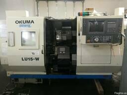 Токарний станок с ЧПУ OKUMA LU 15 W