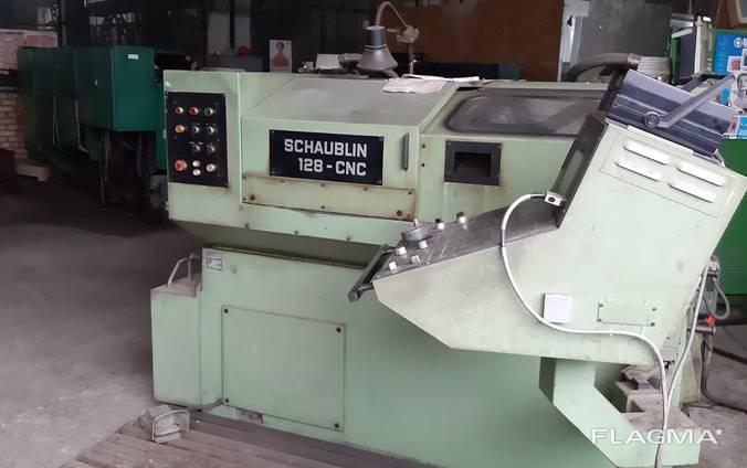 Токарный Шаублин 128CNC