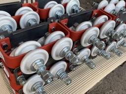Токоприемники и троллеедержатели для кранового токоподвода