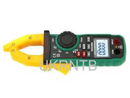 Токовые клещи Mastech (постоянный ток, фонарь, темпер) 600А