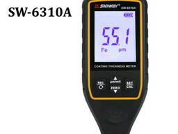 Толщиномер для проверки ЛКП Sndway SW-6310A Fe+NFE большой дисплей