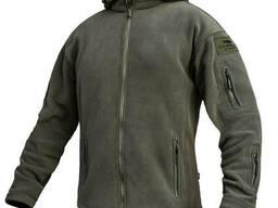 """Толстовка тактическая флисовая куртка/кофта """"Ultimatum"""" Olive размер M"""