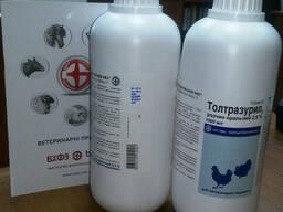 Толтразурил 2, 5% 1л , для птицы и кроликов