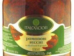 Томати в'ялені в олії 3100 мл Italcarciofi Італія/Томаты. ..
