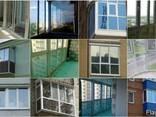 Тонированный балкон, лоджия, французский балкон - фото 1