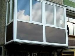 Тонировка балкона, тонируем балконы и ставим