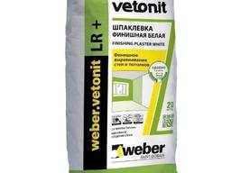 Тонкослойная пластичная Шпаклевка Ветонит ЛР Плюс, Veonit LR