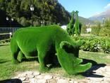 Топиари Фигуры из искусственного газона - фото 3