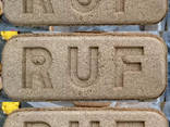 Топливный брикет из 100% дуба RUF (Руф) 3000 грн/т опт 22т - photo 1