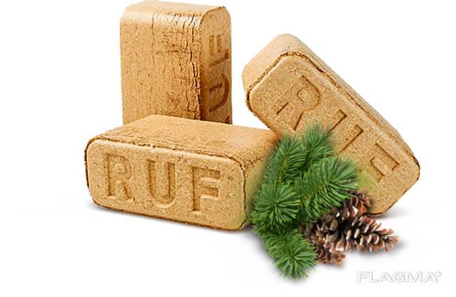 Топливный брикет РУФ (RUF).