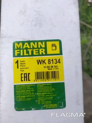 Топливный фильтр mann-filter wk 8134 новий.