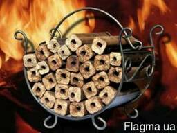 Топливные брикеты - pinikey из лузги подсолнуха