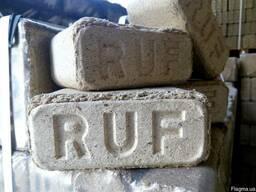 Топливные брикеты RUF дубовый и RUF смешанные породы.