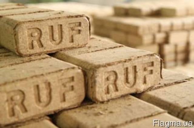 Топливные брикеты RUF дубовые