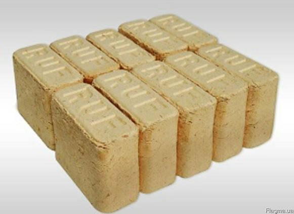 Топливные брикеты RUF купить, не дорого, дрова твёрдых пород