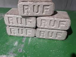 Дубовый топливный брикет РУФ, RUF, нестро, пини кей, паливний