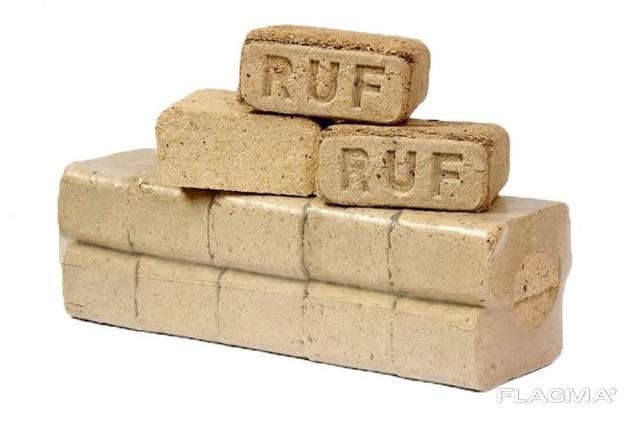 Топливные брикеты RUF (твердые породы древесины)