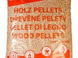 Топливные пеллеты Premium в упаковках по 15 кг от 10 тонн - фото 1