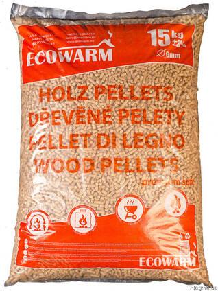 Топливные пеллеты Premium в упаковках по 15 кг от 10 тонн