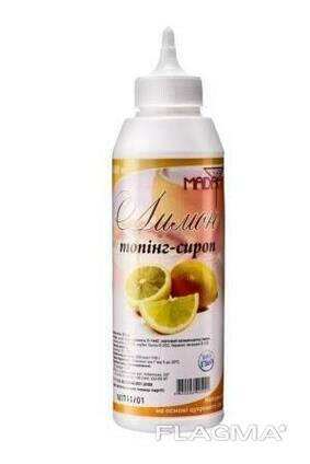 Топпинг-сироп Sweet Madam, лимон, 0.6 кг