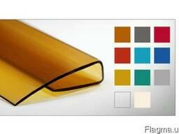 Профиль торцевой Carboglass 4, 6, 8, 10, 16, 20, 25 мм прозрачный