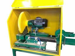 Торцовочный станок автоматический для резки топливных. ..