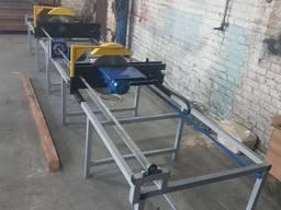 Торцовочный станок для бруса и доски ПТА - 450Торцовочный